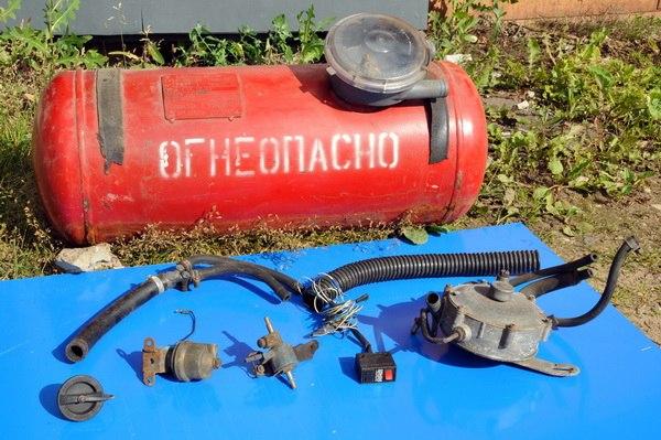 Установка газового оборудования на уаз своими руками