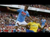 Gonzalo Higuain vs Arsenal (Emirates Cup) 13-14 [Debut Match]