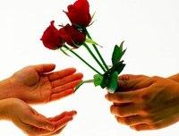 """Оригинал схемы вышивки  """"Знаки любви """".  Знаки любви, люди, руки, цветы."""