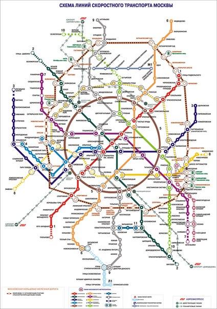 как новая ветка метро,