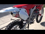 2012 Honda CRF250X Yoshimura RS2 Slip on exhaust, JD Jet Kit, Airbox mod