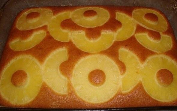 Вкуснейший пирог с ананасами