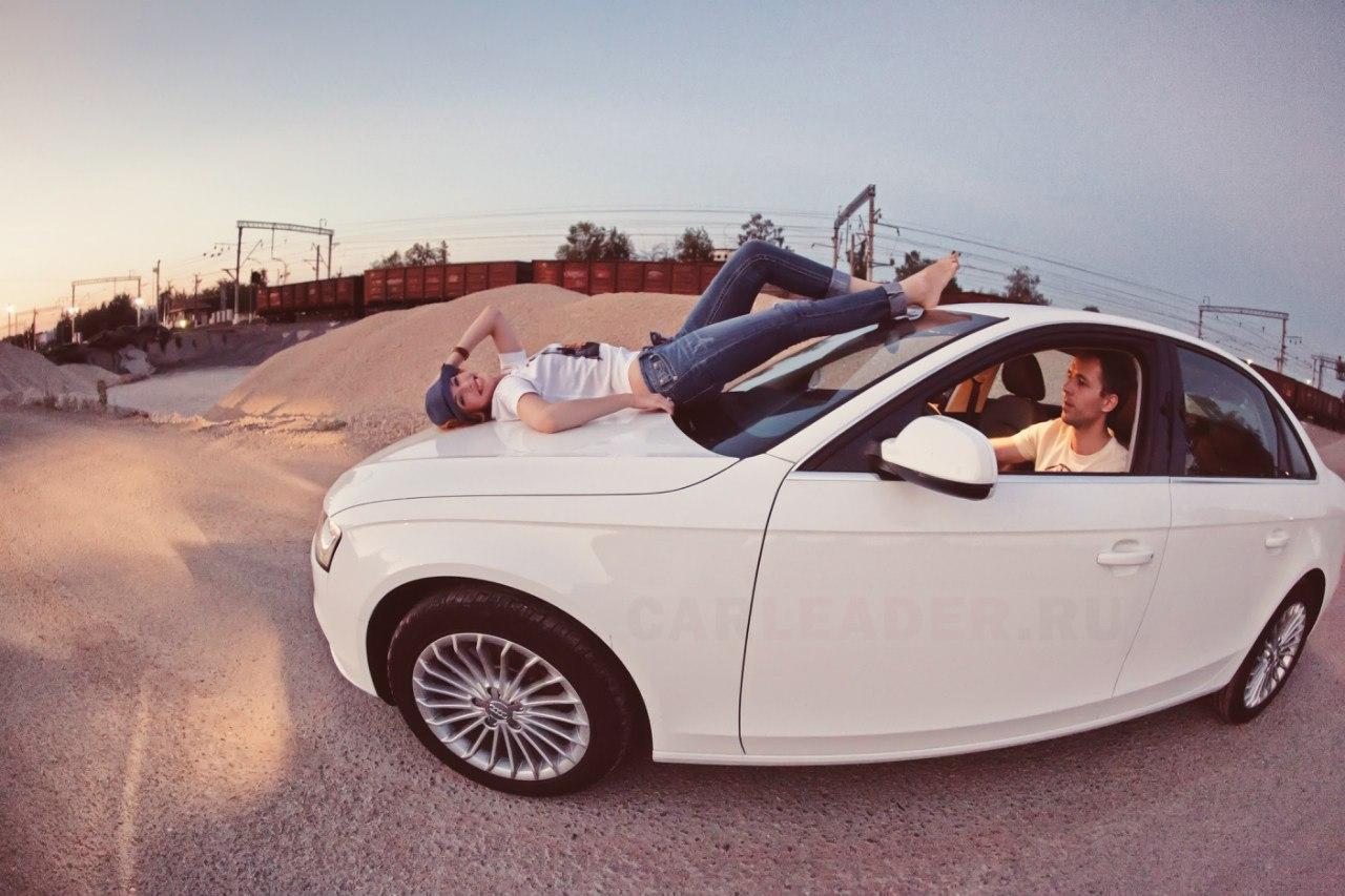 краш тест Audi A4 2012