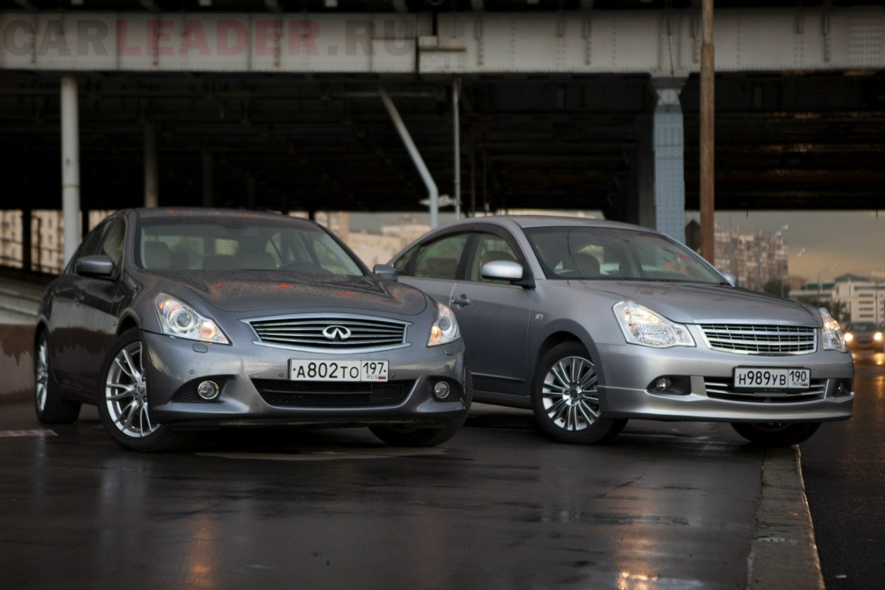 infiniti g25 vs bluebird axis car leader