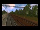 От станции до станции зацепом в trainz 2012
