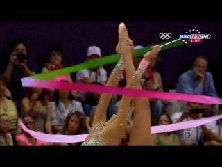 Evgeniya Kanaeva Ribbon final - Olympic games London 2012