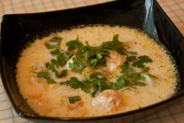 рецепты сырного супа