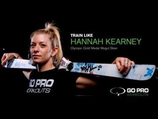Hannah Kearney & Go Pro Workouts Promo Video: Train like an Olympian