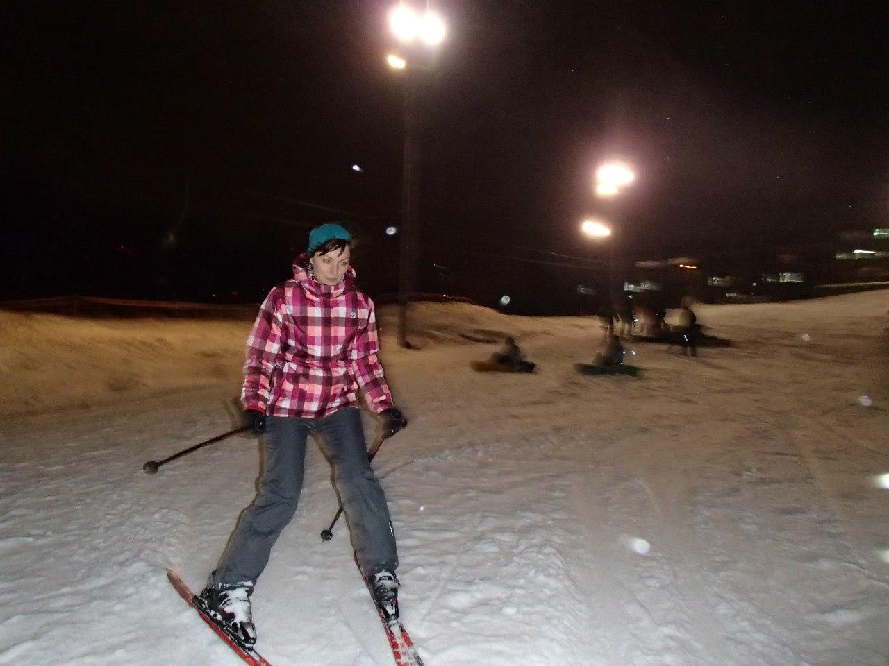 Лыжи-санки-снежки