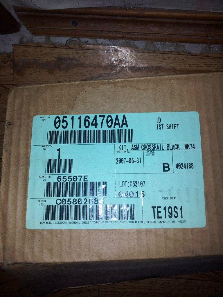 Продам новый оригинальный багажник на релинги. Питер Yadg9t5IzD8