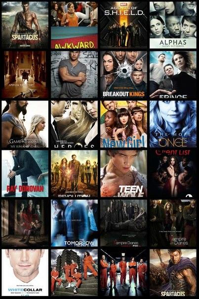 Подборка лучших сериалов 2013 года по мнению сайта Alexstuff