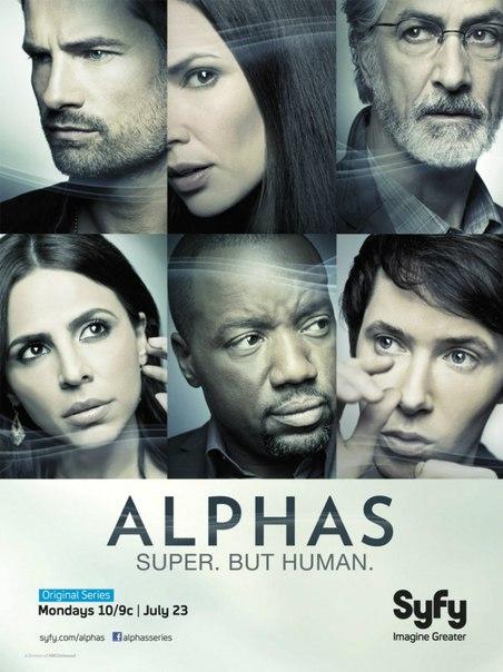 Люди Альфа ( Alphas ) , 2011