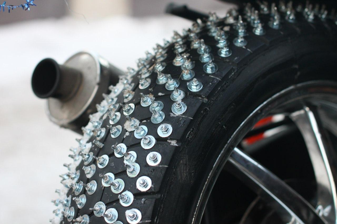 Ошиповка зимних шин своими руками - Авто-Мото Штучки 21