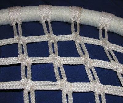 Схема плетения подвесного кресла макраме.