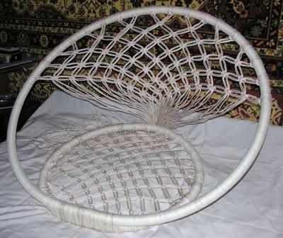 Схемы для плетения спинки можно выбрать любые.  Кто занимается макраме, может выбрать любой узор.