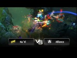 Teamwipe by Na`Vi vs Alliance - Game 2 @ StarLadder LAN-Finals - VII
