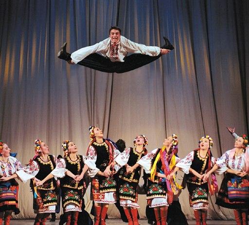 Народный танец - танец