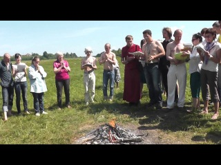 Лама Олег. Огненная пуджа и подношение очищающего дыма, 2 июня 2013. Часть 3 из 4