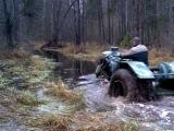По  болоту на каракате