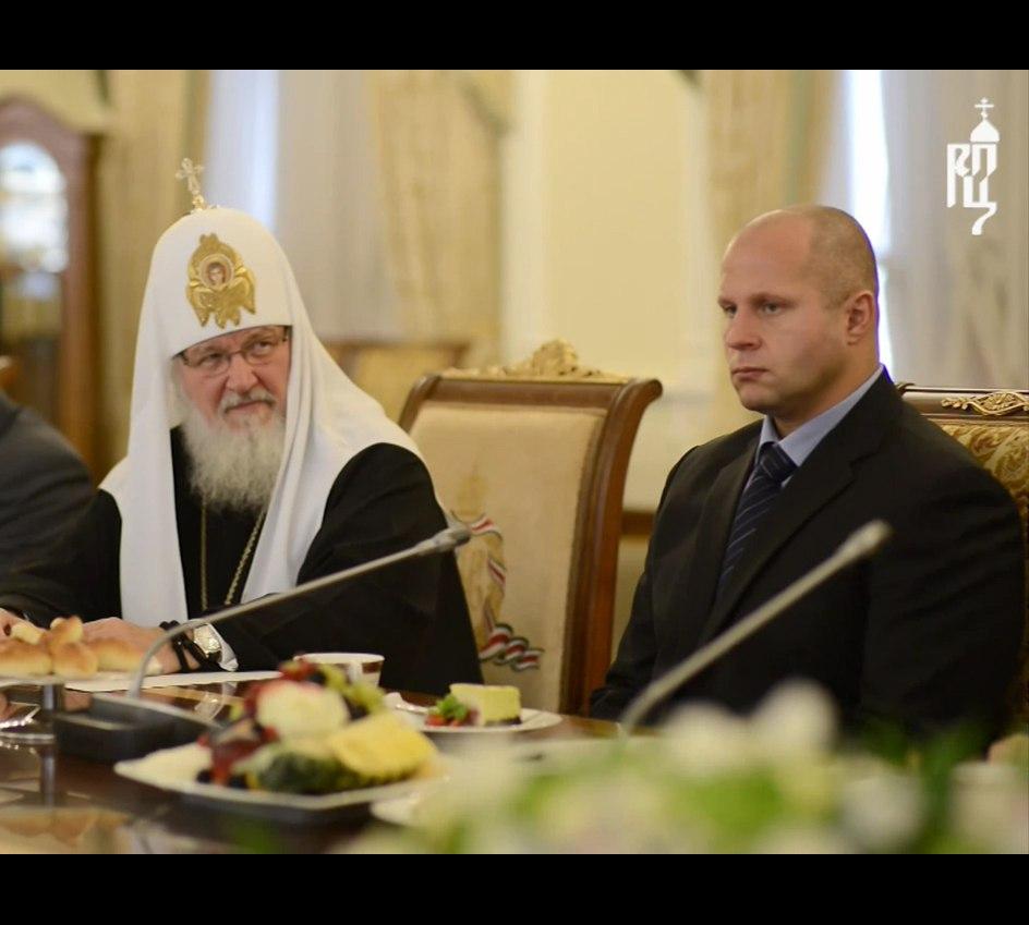 Встреча Патриарха с выдающимися спортсменами России