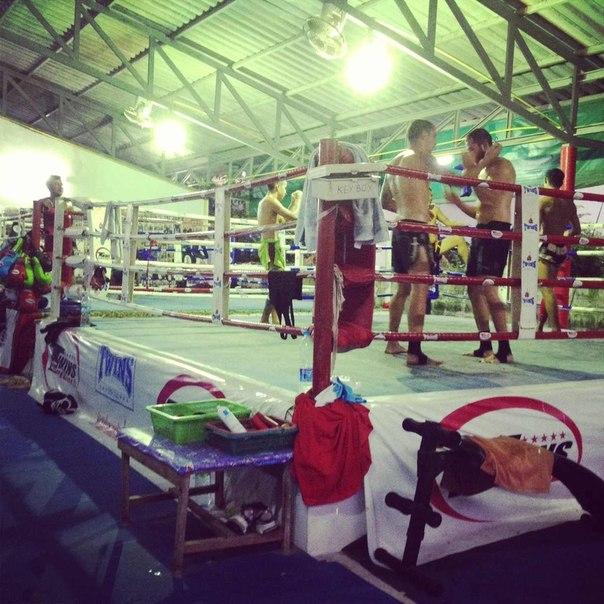 чередуется тайский бокс и