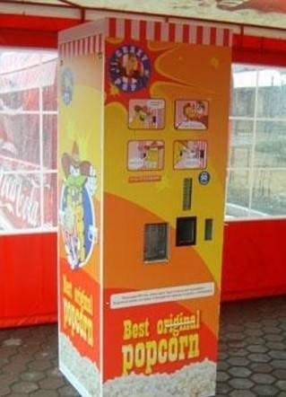 продаже попкорна с местами