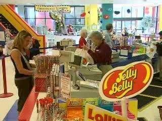 Фабрика по производству жевательного мармелада Jelly Belly