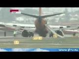 В аэропорту Нью-Йорка «Ла-Гуардия» случилась авария Боинг-737 [РУССКАЯ АМЕРИКА]