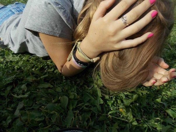 Фото в контакте на аву девушек с русыми волосами