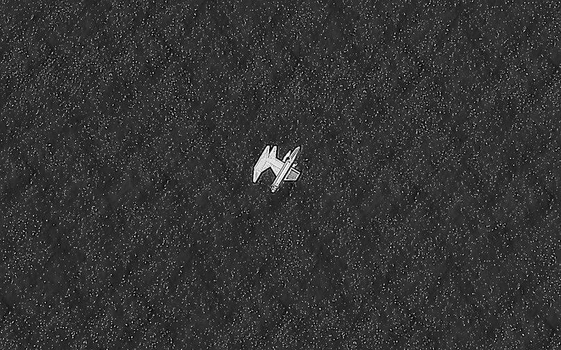 Второй снимок спутника