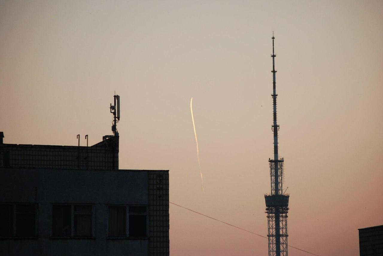 Июльское утро в Киеве