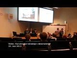 Российский беженец Газарян устроил потасовку на конференции в Таллине