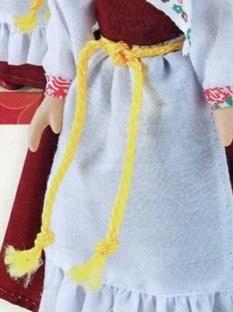 Куклы в народных костюмах №14 Кукла в летнем костюме Вологодской губернии