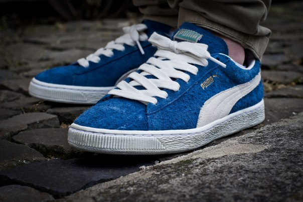 ensign blue puma suede classic