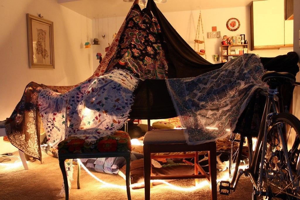 Как сделать в домашних условиях шалаш 59