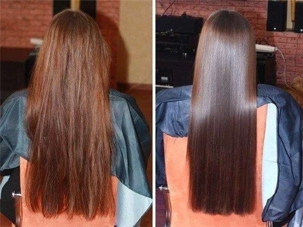 Маска делается на сухие волосы или на мокрые