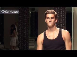 Sexy Male Models Backstage at Ermenegildo Zegna Spring 2013 | Milan Men's Fashion Week | FashionTV