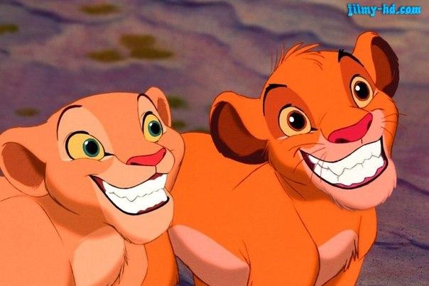 картинки король лев нала и симба