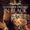 █ ★[NOVEMBER DRESSED IN BLACK]★ █