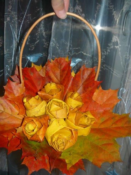 Осенняя поделка в садик своими руками