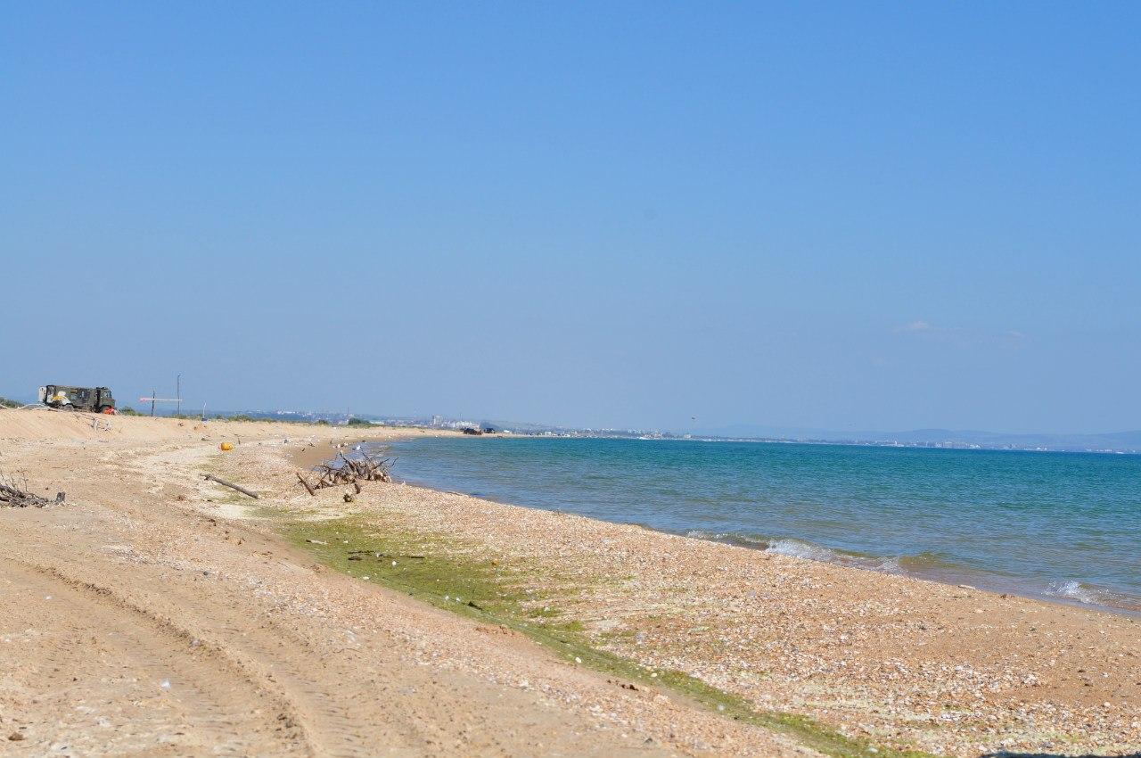Дикий пляж витязево фото