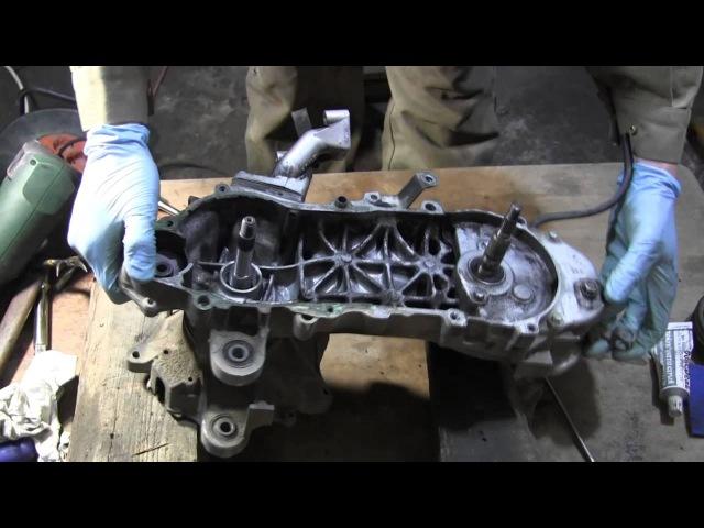 Ремонт скутера хонда дио 18 своими руками видео