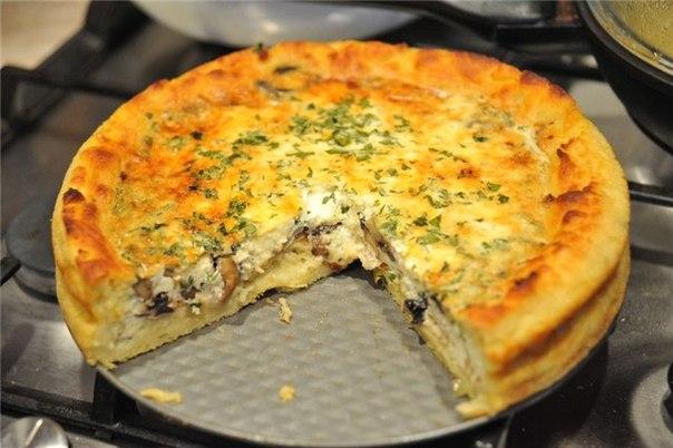 Пирог с картошкой и сыром рецепт с