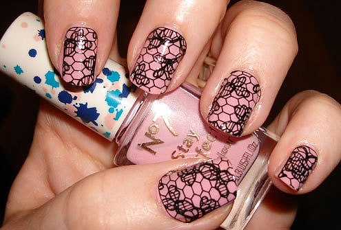 как делать рисунки на ногтях: