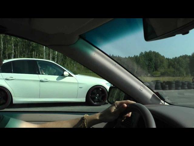 Volvo S40 T4 Autotech 420hp vs BMW 335i 400hp