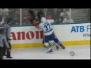 Rick Rypien vs Zack Stortini Apr 4 2009