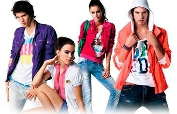 Молодежная одежда реклама