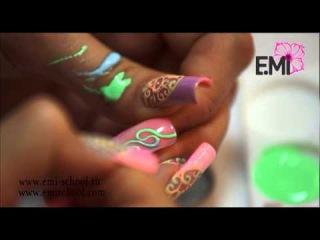 Дизайн ногтей екатерины мирошниченко видео