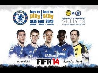 FC Chelsea Asia Tour 2013 Torres, Lampard, David Luiz, Eden Hazard, Juan Mata vk.com/ea_fifa14 mix
