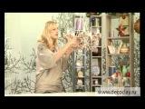 Ольга Петрова показывает как слепить розы